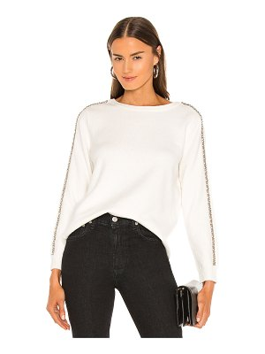 1. STATE stretch cotton sweater