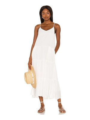1. STATE tiered maxi dress