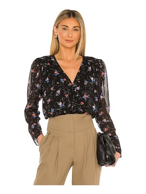 1. STATE tranquil ditsy garden blouse