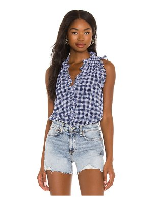 1. STATE v neck ruffle top