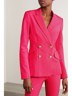 10 Crosby by Derek Lam rodeo double-breasted cotton-blend blazer