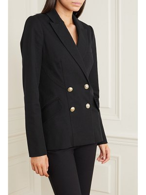 10 Crosby by Derek Lam rodeo double-breasted stretch-cotton twill blazer