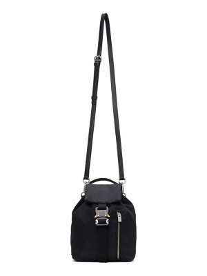 1017 ALYX 9SM black baby x-bag backpack