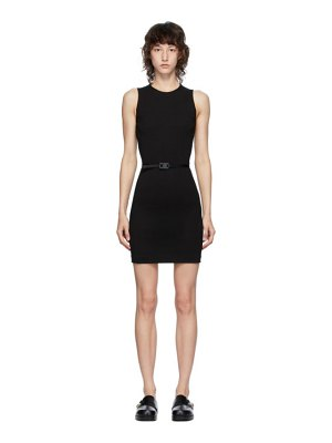 1017 ALYX 9SM black jersey buckle dress