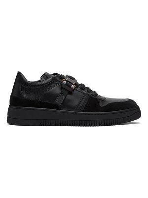 1017 ALYX 9SM black leather buckle sneakers