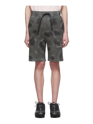 1017 ALYX 9SM grey printed shorts