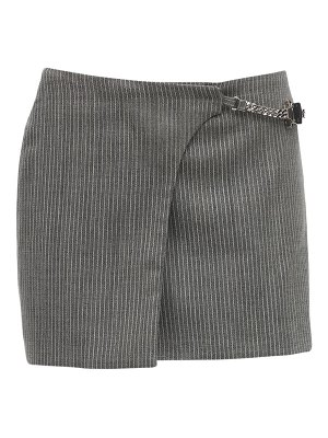 1017 ALYX 9SM Wool blend mini skirt w/ chain