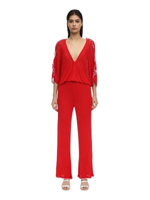 16R Tulipano knit jumpsuit