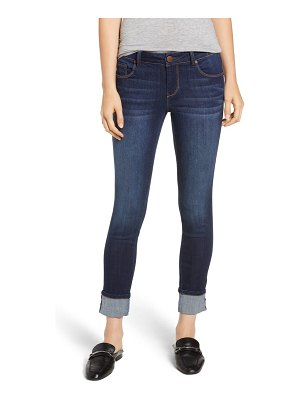 1822 Denim cuffed ankle skinny jeans