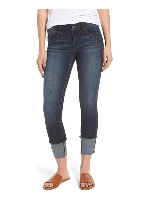 1822 Denim cuffed skinny ankle jeans