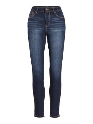 1822 Denim high waist organic cotton blend ankle skinny jeans
