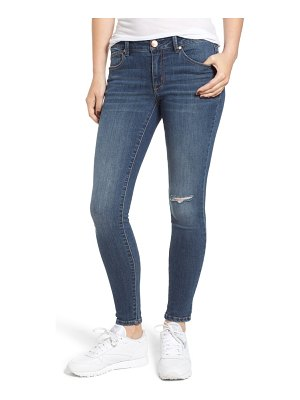 1822 Denim ripped mid rise ankle jeans