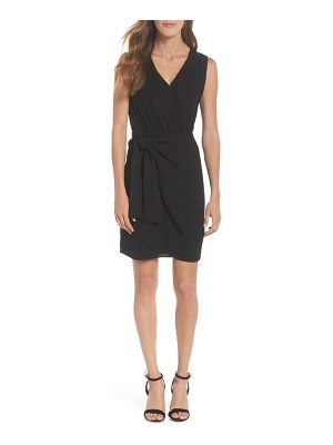 19 Cooper faux wrap tie dress