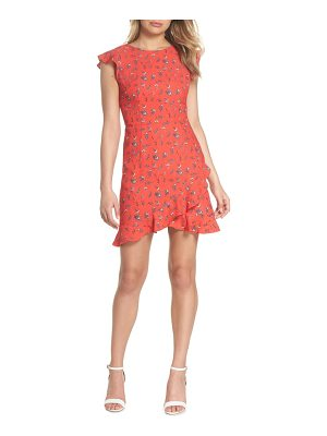 19 Cooper flutter sleeve ruffle hem dress