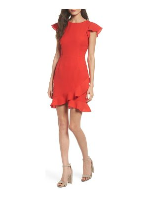 19 Cooper ruffle edge sheath dress