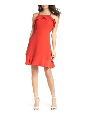 19 Cooper ruffle halter dress