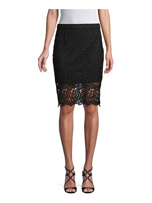1ST SIGHT Lace Side Zip Skirt