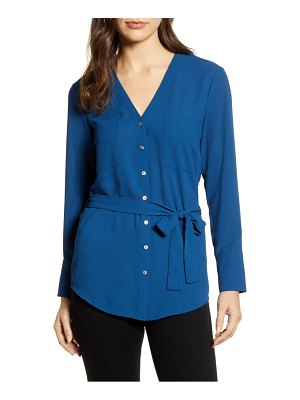 1.State 1. state patch pocket belted shirt