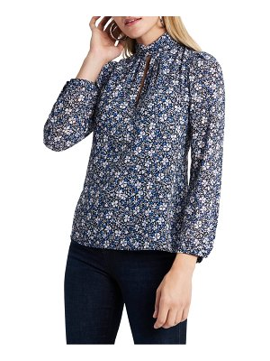 1.State chateau floral blouse