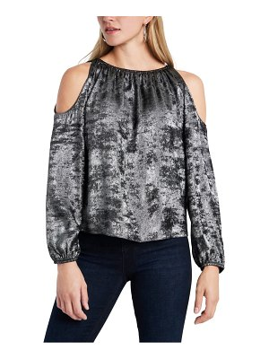 1.State cold shoulder top