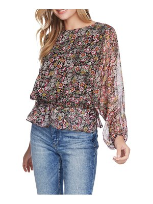 1.State forest gardens blouson top