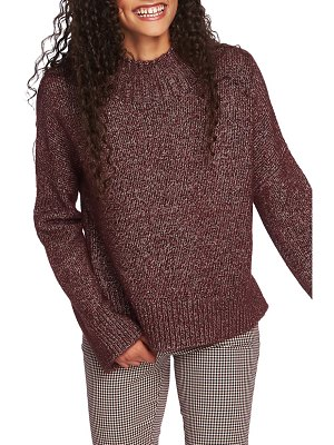 1.State mock neck sweater