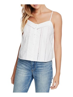 1.State pintuck cotton camisole