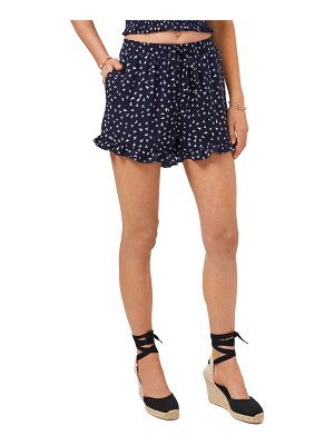 1.State pull-on ruffle shorts