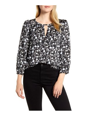1.State romantic vines blouse