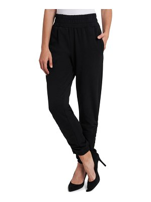 1.State ruched ankle tie pants