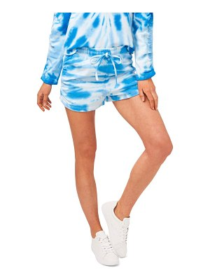 1.State ruched side pull-on shorts