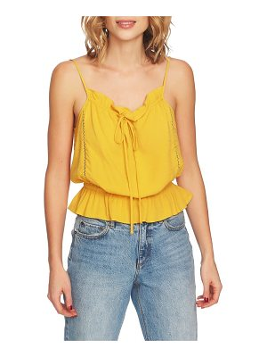 1.State ruffle camisole