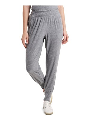 1.State smocked joggers