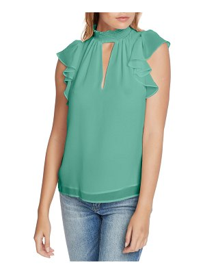 1.State smocked neck top