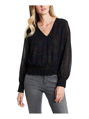 1.State smocked top