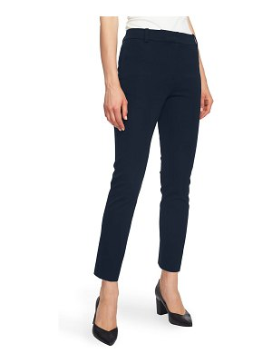 1.State stretch twill slim ankle pants