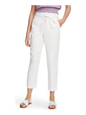 1.State tie waist tapered trousers