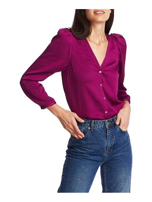 1.State v-neck woven top