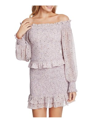 1.State wildflower bouquet off the shoulder top