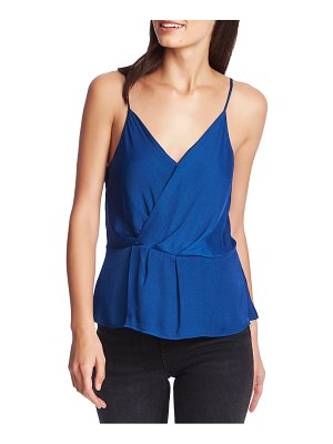 1.State wrap front rumple satin camisole