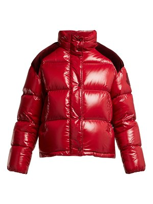2 MONCLER 2 moncler 1952 - chouette quilted down jacket