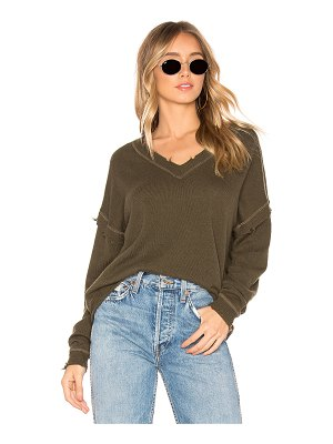27 miles malibu Paddington V Neck Sweater