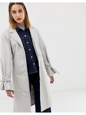 2nd Day 2ndday longline trench coat