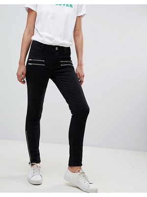 2nd Day 2ndday skinny jeans with zip detail