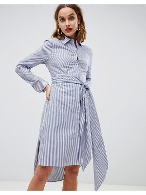 2nd Day 2ndday striped shirt dress