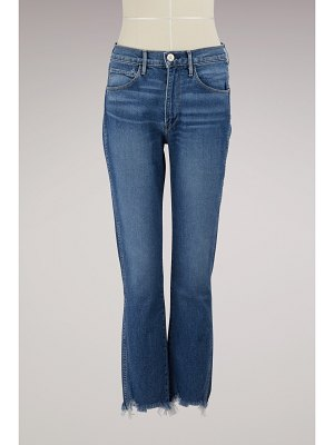 3 X 1 Authentic straight cropped jeans
