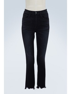 3 X 1 W3 Straight authentic cropped jeans