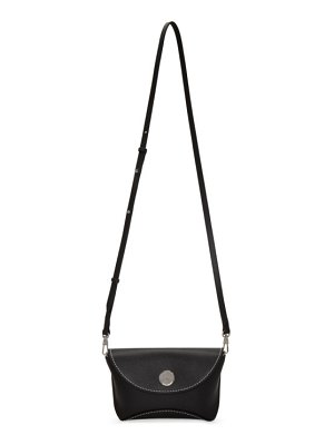 3.1 phillip lim black hammered hudson bag
