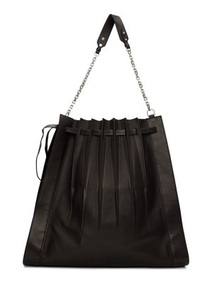 3.1 phillip lim black large pleated florence bag
