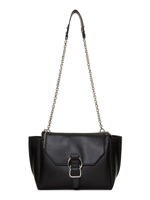 3.1 phillip lim black large soft charlotte messenger bag